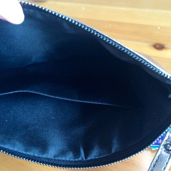 Zara Bags - Violet Ray More Issues Than Vogue Metallic Clutch