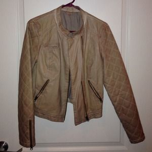 Free People leather jacket