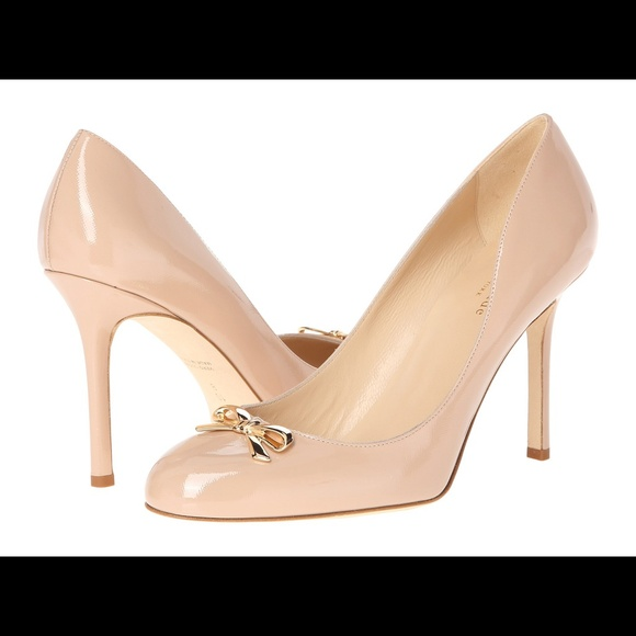 """kate spade - SOLD Kate Spade Nude Pumps """"Antonella"""" NWT from ..."""