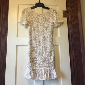 Dress , size small , ivory
