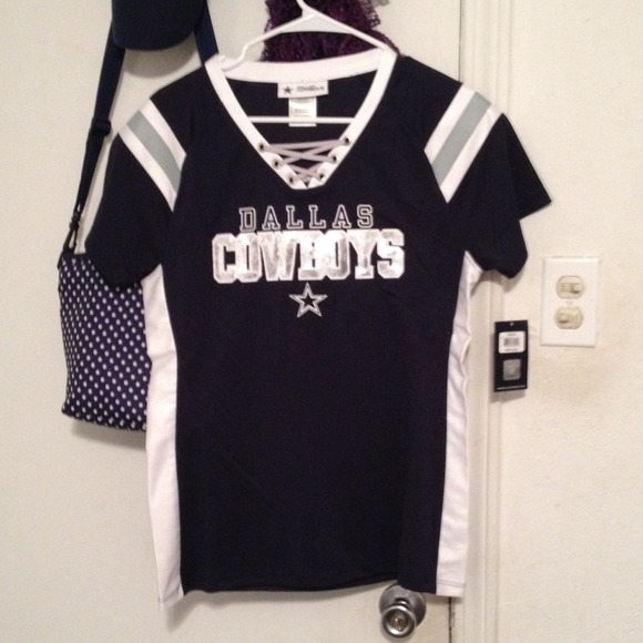 3a31a88fe dallas cowboys lace up jersey