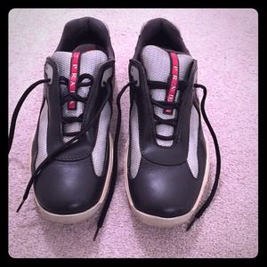 prada authentic shoes