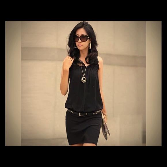 57aa8ac98f0 Summer women dress white and black size S