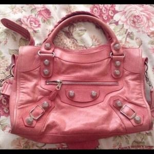 Balenciaga AUTHENTIC giant 21 city pink bag