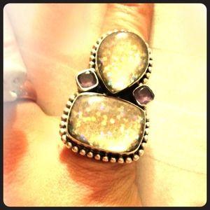 Jewelry - LARGE 925 SILVER RING COSMIC KOOL🌠🌛🌙⭐️🌠