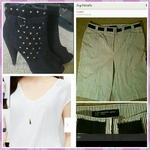 Black & White City Shorts