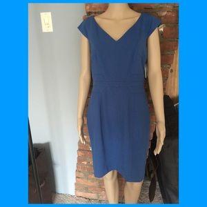 NWT Andrew Marc blue sheath dress