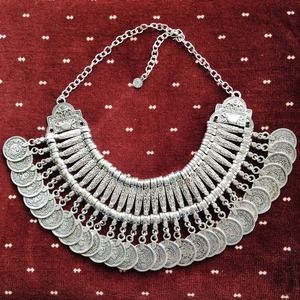 *Host Pick* Vintage Gypsy Coin Necklace