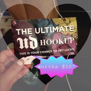 Urban decay hookup cards