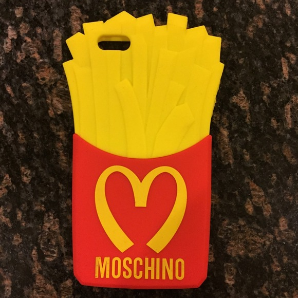 the latest 73b59 28429 MOSCHINO IPHONE 6 PLUS CASE