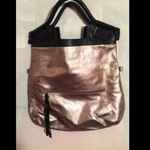 Foley + Corinna Silver and Black Bag