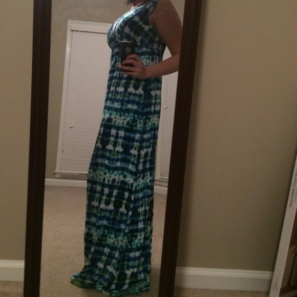 Renee c shiloh maxi dress off shoulder