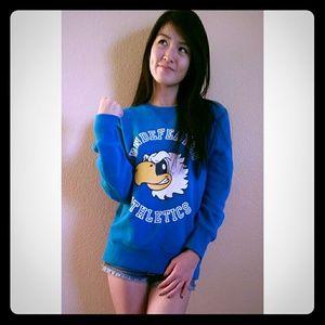 Undefeated Sweaters - Undefeated Blue Crewneck