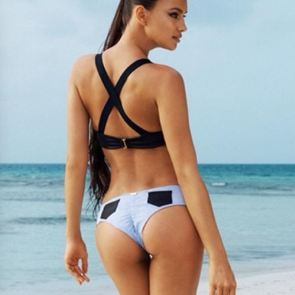 Beach Bunnyy Divide Matching Skimpy Bikini