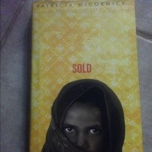 "Hard Covered book ""Sold"". Best selling author"
