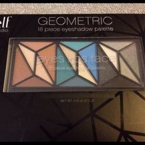 ELF Geometric 18 Piece Eyeshadow Palette BRAND NEW
