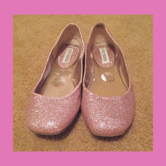 Pink Glitter flats. M 548a7fd8e6d0c3055a06bb5c 1fa984488d