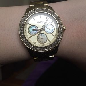 Fossil Accessories - Fossil gold watch