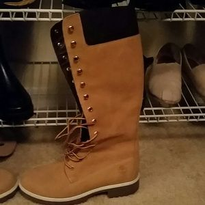 timberland timberland hiker boots black 8 5 womens from