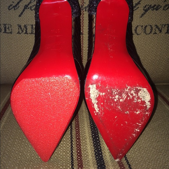 christian louboutin bottom repair