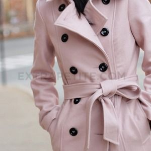 ASOS double breasted belted trench style coat