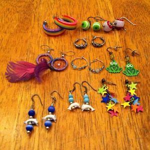 Jewelry - Jewelry bundle. Set of 10 earrings