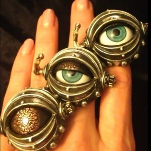 Alchemy Protective Auto Eye Ring 7.5