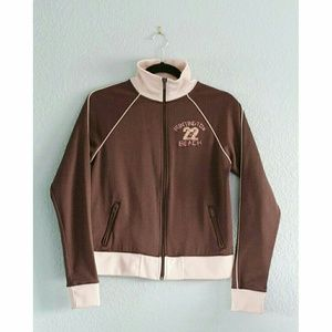 "Hollister | ""Huntington Beach"" Track Jacket"