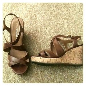Franco sarto brown MONTY sandals 6.5