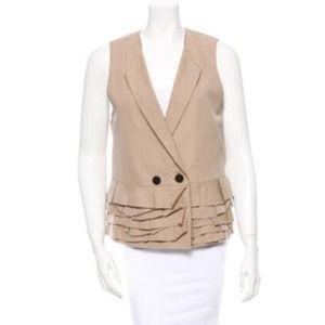 3.1 Phillip Lim rare ruffle vest top