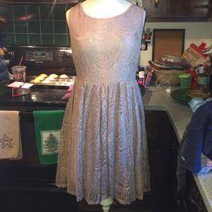 Ya Sparkly Lace Dress