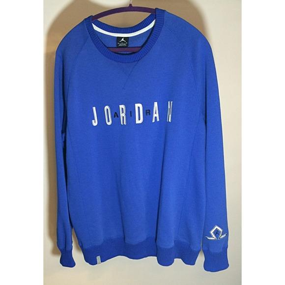 Jordan Sweaters | Mens Xl Blue Like New