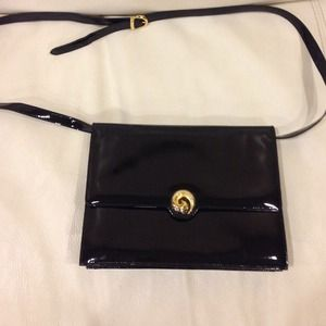 Salvatore Ferragamo Vintage Patent Leather Purse!