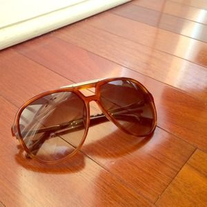 Authentic Chloe Aviator Sunglasses