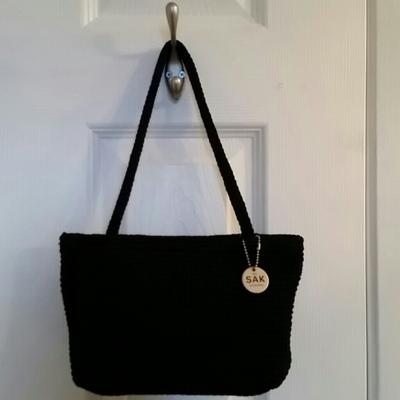 The Sak Bags Original Black Crochet Shoulder Bag Poshmark