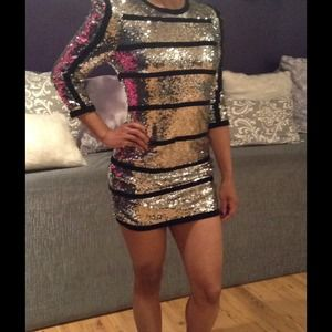 """Yonce"" Sequin dress"