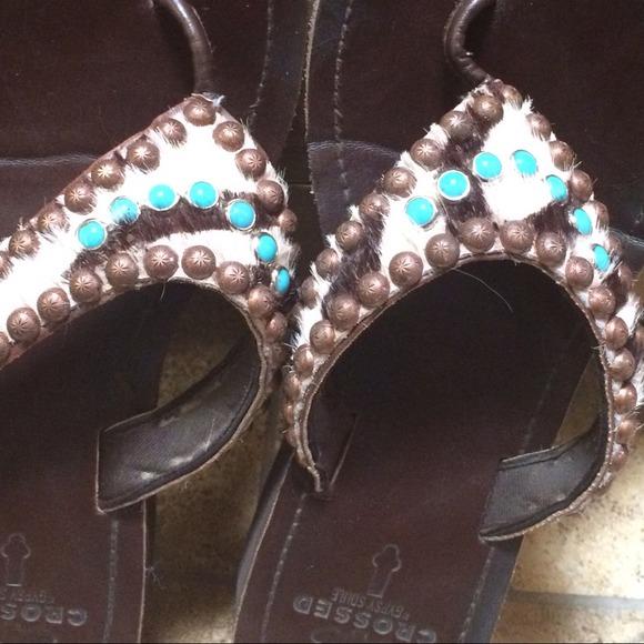 0879c0e2e Gypsy Soule Shoes - Crossed by Gypsy Soule sandals