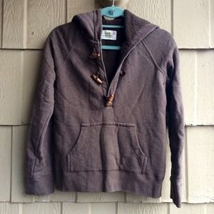 J. Crew Jackets & Blazers - J. Crew Brown Toggle Hoodie