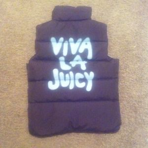 REDUCED PRICE  Juicy Couture Vest