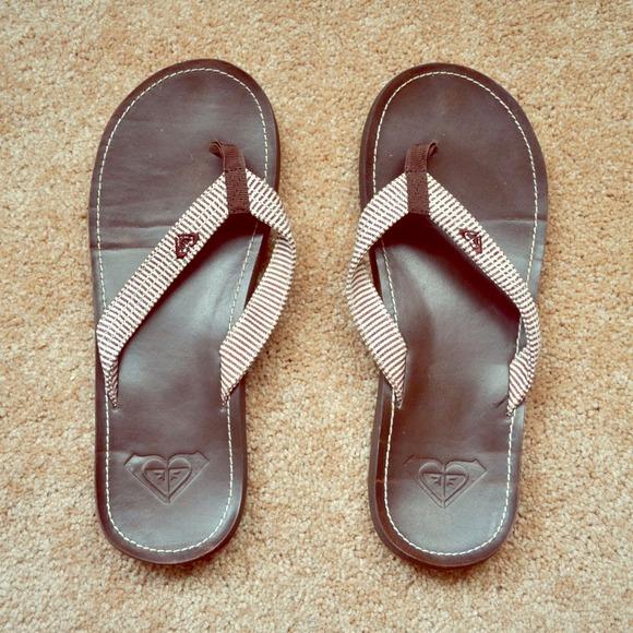 67bc96ea6b6d21 Roxy Leather Sandals. M 548d05a0912644055604ef68