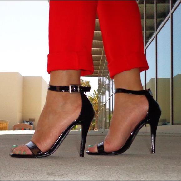 80% off Candie's Shoes - Candies Caveronique Black Patent Ankle ...