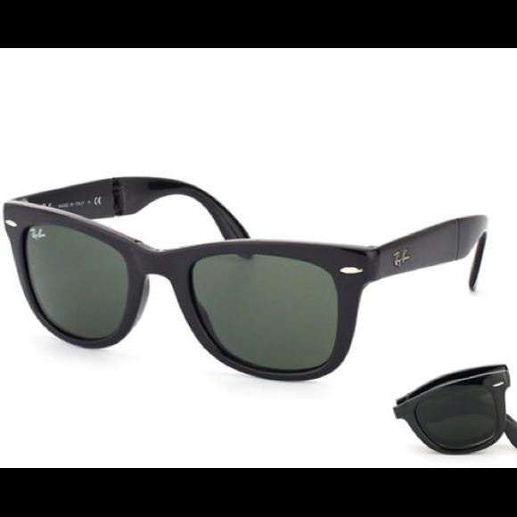 5029ecb07f48 Ray-Ban Accessories   Rayban Folding Wayfarer Icon Sunglasses Rb4104 ...