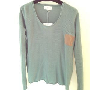 Brand new Sage green sweater