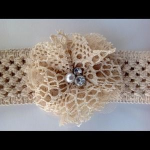 Other - NEW! Boutique Stretch Crocheted Headband