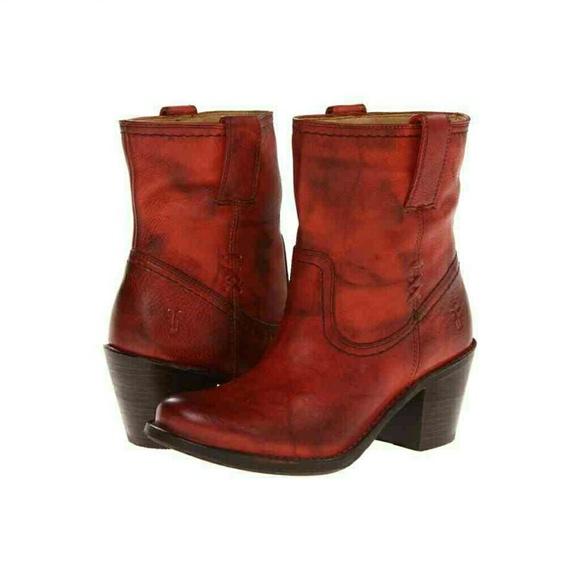 75% off Frye Boots - SALE!! 😄 FRYE Carmen x stitch ankle boots ...