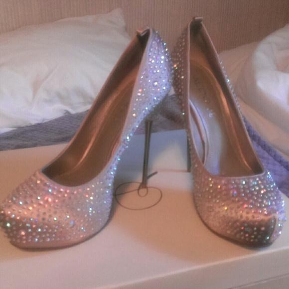 Aldo Shoes Sparkle Heel
