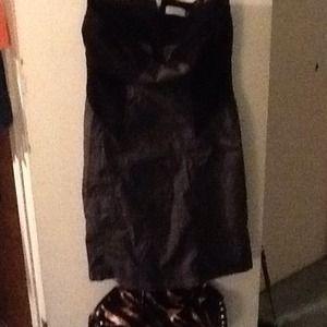 Strapless Calvin Klein Dress