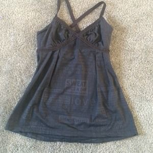 Lululemon work out tank size 2