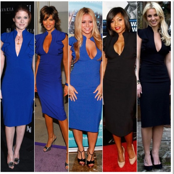 fc102a06 Black Halo Dresses & Skirts - Authentic Black Halo Keyhole Ruffle Dress