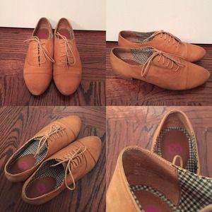 ✨SALE✨ Nordstrom BP Oxfords- Cognac Leather